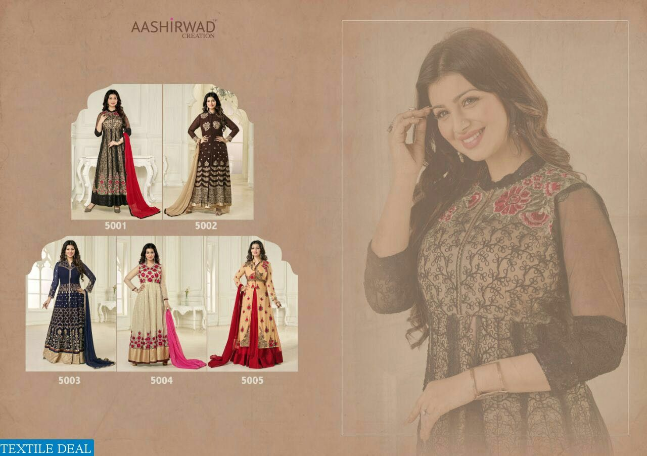 AASHIRWAD MERINA SUPPLIER DESIGNER SALWAR KAMEEZ Catelog pieces: 5 Full Catelog Price: 6975 Price Per piece: 1395 MOQ: Full catalog Shipping Time: 4-5 days Delivery: Dispatch after 2016-08-25 Sizes: Semi Stich Fabrics Detail Top :-  heavy Georgette and mono net  Bottom & inner :- spun santoon Dupatta :- narzling  #nicecollection  #goodmateriel  #awesomelook Call&Whatsapp;+917405434651 website link :-http://textiledeal.in/wholesale-product/4449/Aashirwad-Merina-Supplier-Designer-Salwar-Kameez