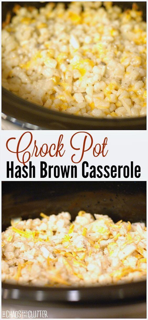 Slow Cooker Hash Brown Casserole Recipe Breakfast