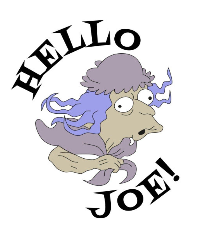 Grandma Flanders - Hello Joe, The Simpsons | Simpsons art, Simpsons  characters, Cartoon tv shows