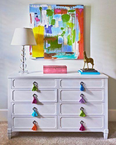 Traci-Zeller-Designs-Girls-Bedroom-Dresser-with-Tassels1 | Divine ...
