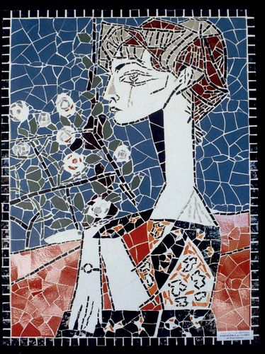 16 Jaqueline e as Flores - Picasso | Releitura da obra de Pa… | Flickr