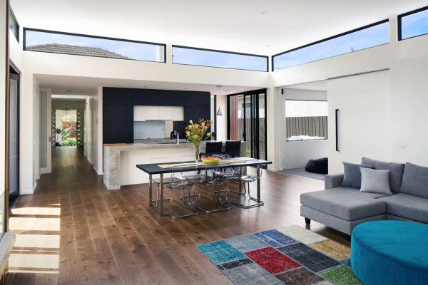 A Renovation Upgrades An Art Deco House   Design Milk. Modern Interior ...