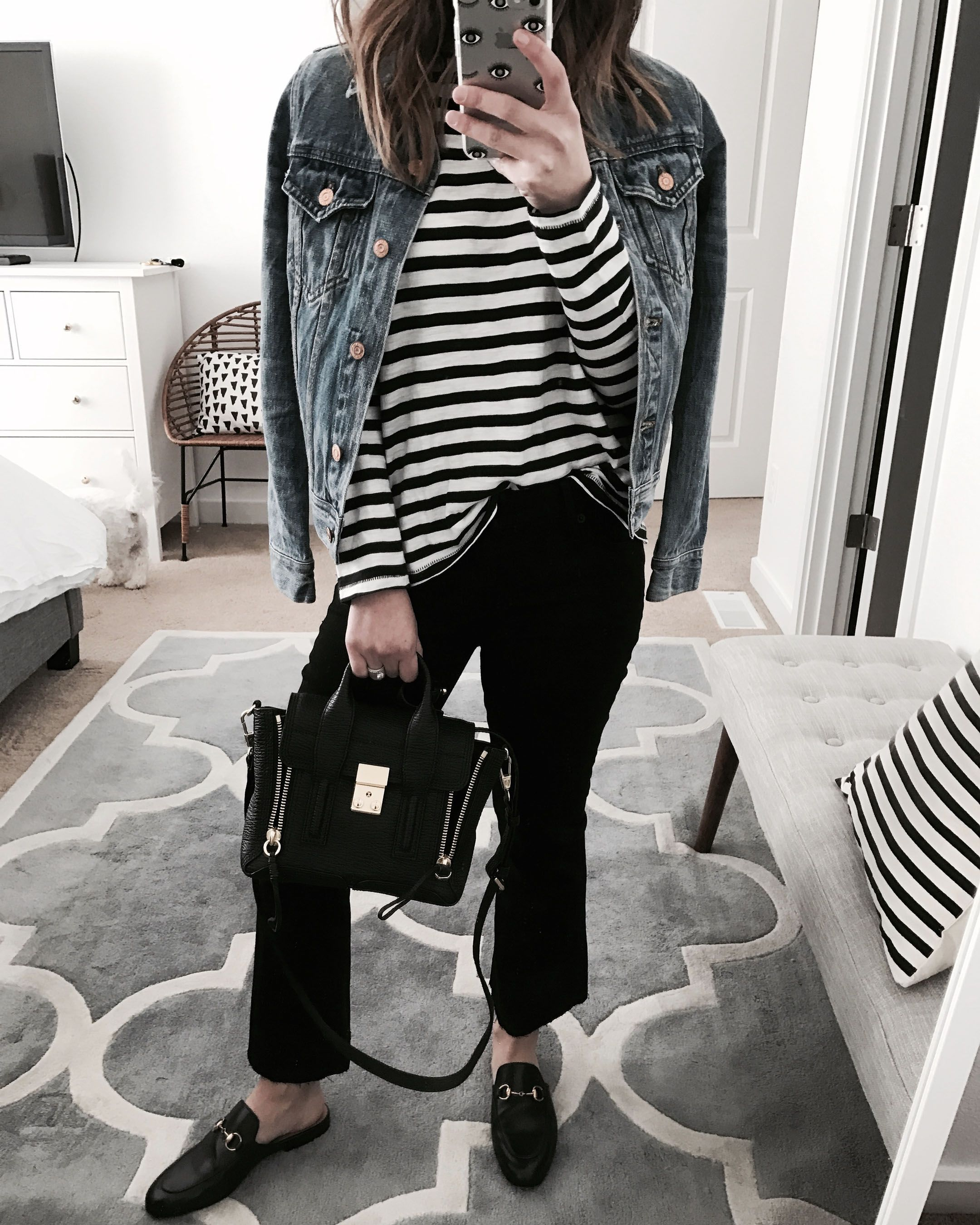 23fd0dc968a Instagram Roundup + Outfit Details | TO WEAR | Black loafers outfit ...