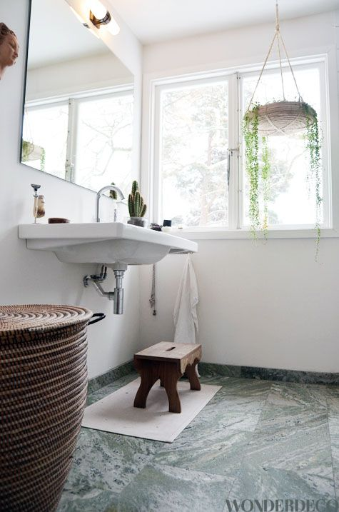 spegel + kolmårdsmarmor Badrum Pinterest Badrum, Hall och Inredning