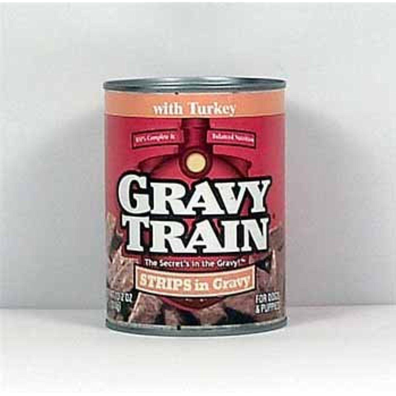 Ddi Gravy Train Dog Food Strip Gravy Turkey Cases Of 24