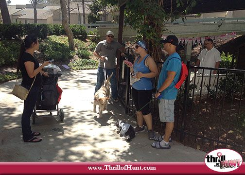 Dog Scavenger Hunt hosted by Thrill of the Hunt in San Diego #UTCMall #SanDiego #ScavengerHunt