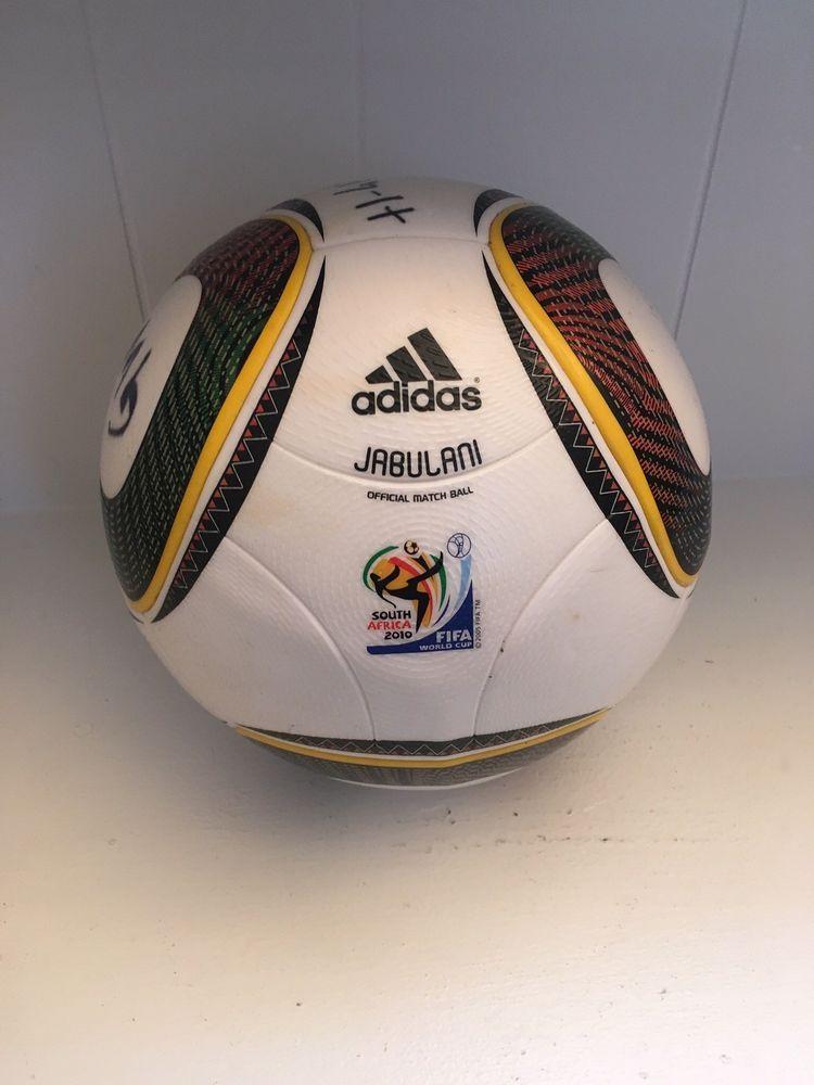 Adidas Jabulani Official Match Ball 2010 Fifa World Cup South Africa Has Wear Fifa World Cup Fifa World Cup