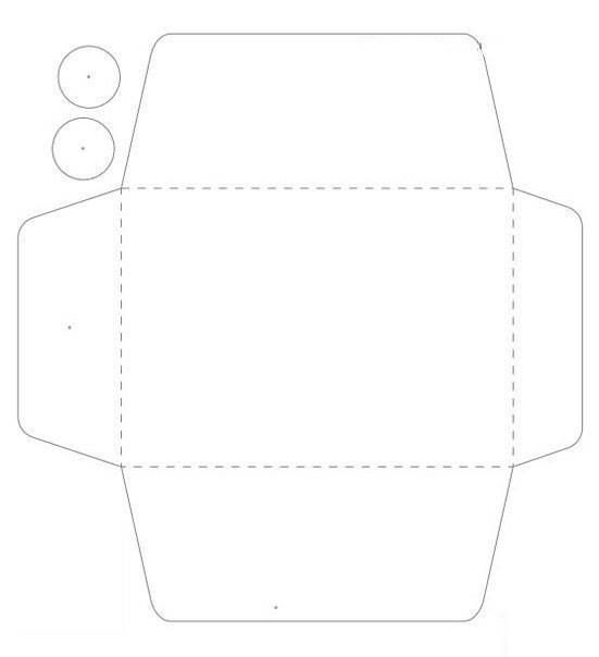 String Tie Envelope Template - Google Search | Envelope Punch