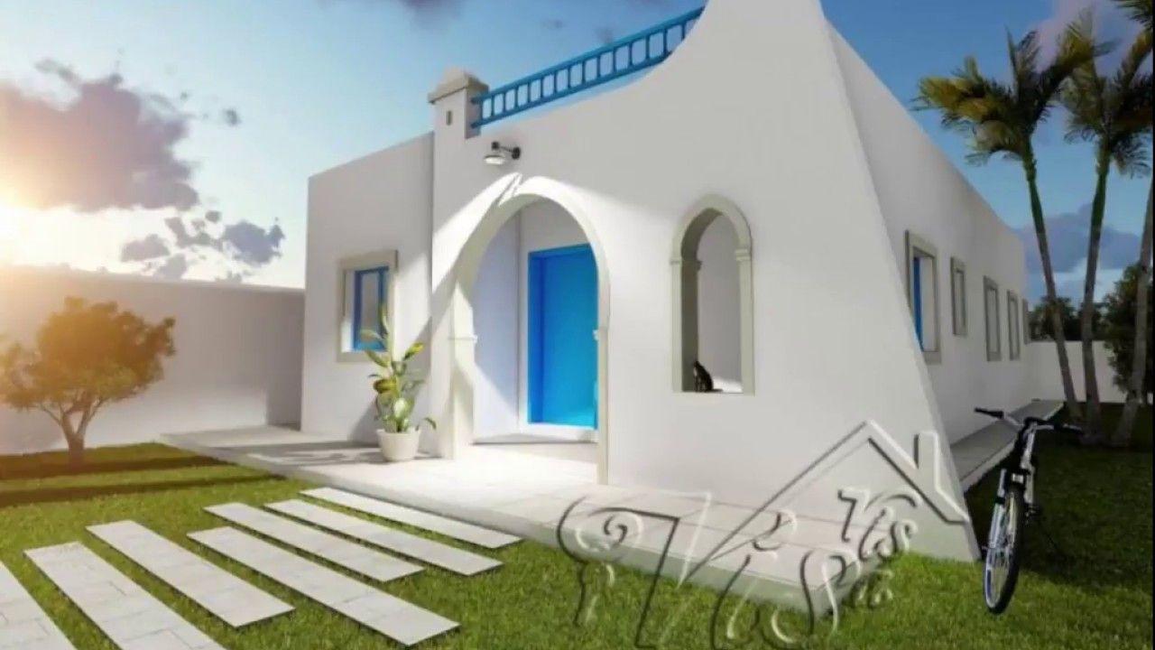 Construction Villa Sur Mesure A Djerba Tunisie Djerba Maison Style