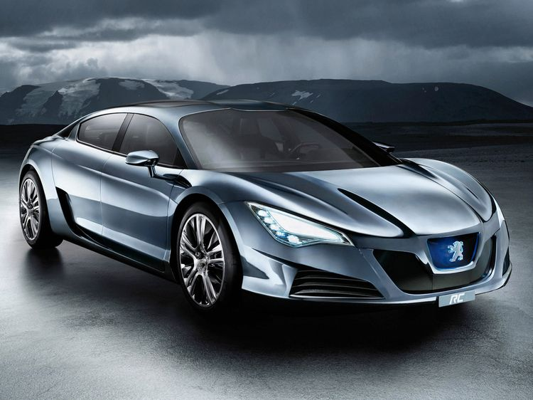 French Concept Cars: Peugeot RC HYbrid 4 Concept   Dope shit ...