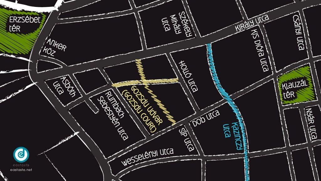 Hallgathato Zenei Terkep A Budapesti Bulinegyedrol Budapest Map