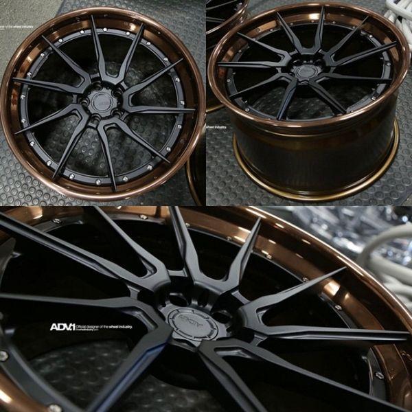 Introducing the ADV10R, a new twist on the classic ADV10...literally. 2014 Ferrari F12 Wheel Specs: ADV10R Track Spec CS 50/50 Exposed Hardware Finish Disc: Matte Black Lip Finish Polished Gloss Brown 21x9.5 | 21x12.5 www.thewheelindustry.com adv1 thewheelindustry adv1newborns ferrari f12 directionalwheels