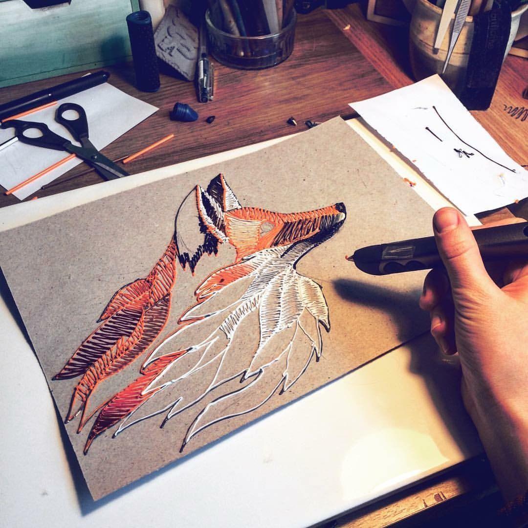 3d drawing ideas fox 3d pen art 3d drawing pen 3d pen