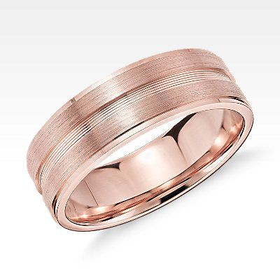 Men S Wedding Rings Classic Wedding Bands Wedding Rings Rose Gold Black Onyx Engagement Ring Mens Wedding Rings