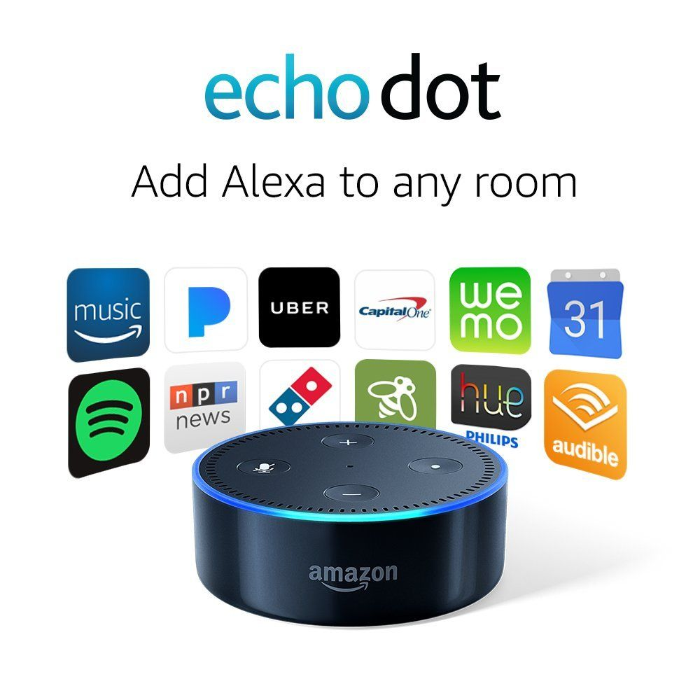 49 99 Echo Dot 2nd Generation Is A Hands Free Voice Controlled Device That Uses Alexa To Play Music Control Smart Home Devices Echo Dot Alexa Voice Echo