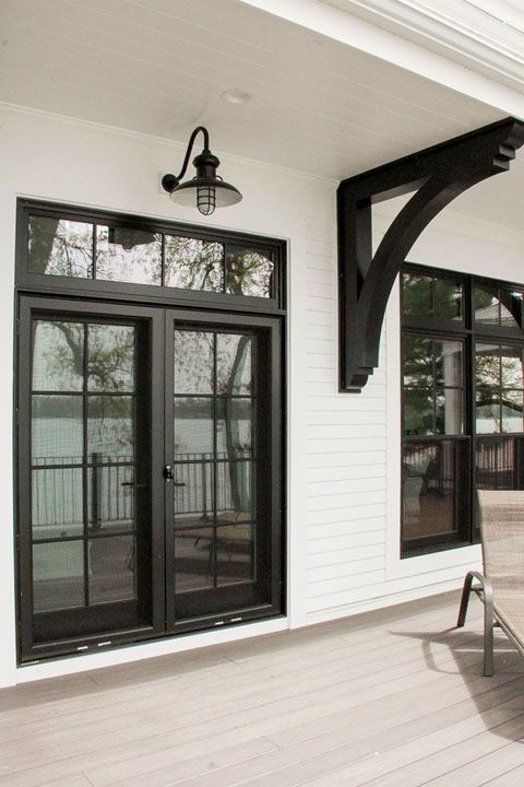 Beautiful Marvin French Door In Ebony