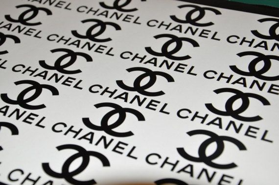 X12 Chanel Vinyl Sticker Glass Candle Car Bumper Van Window Laptop Wall 002 Chanel Stickers Chanel Stickers Logo Sticker Set