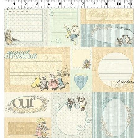Lullaby - Collections Nursery Fabric Label Print