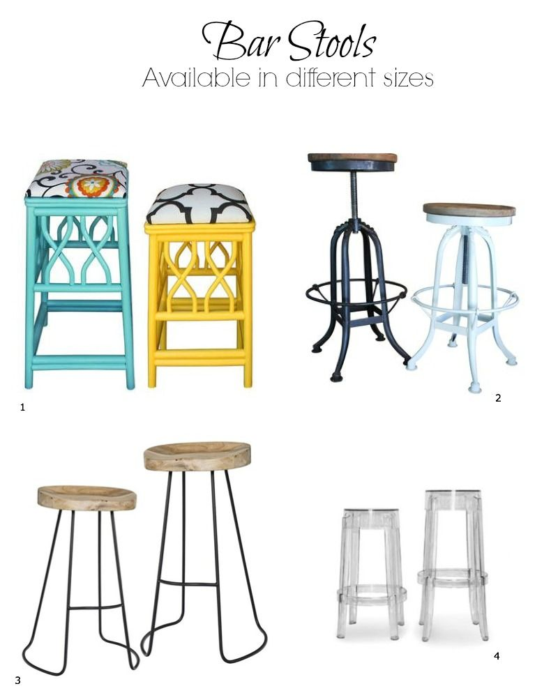 Choosing The Right Height Bar Stool Bar Stools Diy Stool Diy