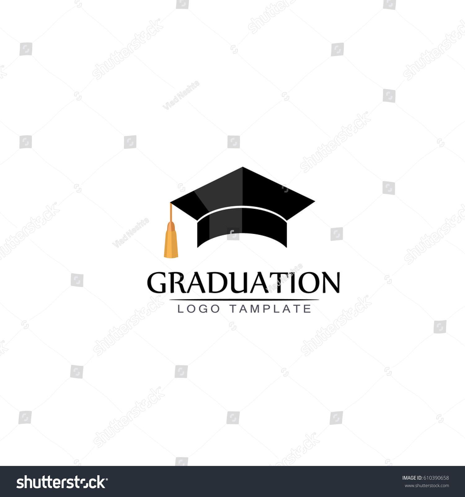 Graduation Cap Logo Or Icon Vector Isolated Illustration On White