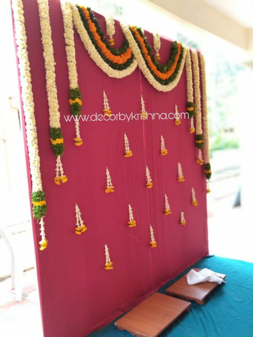 Decorbykrishna Is Taking Orders For Eco Friendly Home Based Events Decor Like Pelliko Wedding Design Decoration Leaf Decor Wedding Indian Wedding Decorations