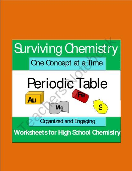 periodic table worksheet sets for high school chemistry clean clear organized easy to use and easy to understand for all students - Periodic Table Worksheets Easy