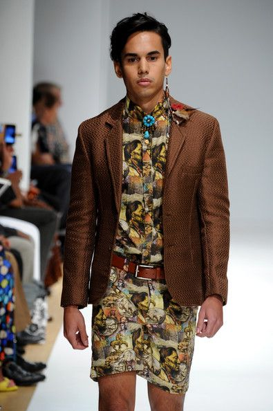 Menswear Collective- Runway - Mercedes-Benz Fashion Week Spring 2015