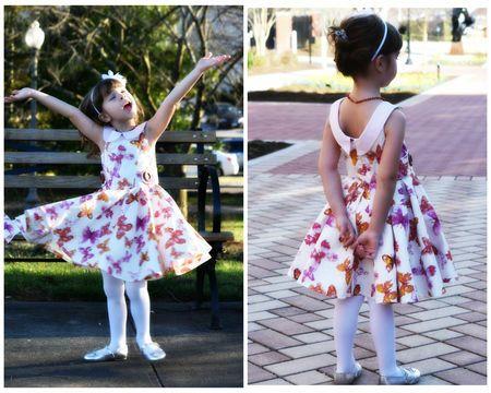 Vivienne Dress Sewing Pattern - US Letter Size   Das mädchen ...