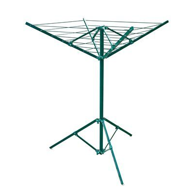 Greenway Clotheslines Drying Rack GCL2FA Easy Fold Away Portable Laundry Hanger
