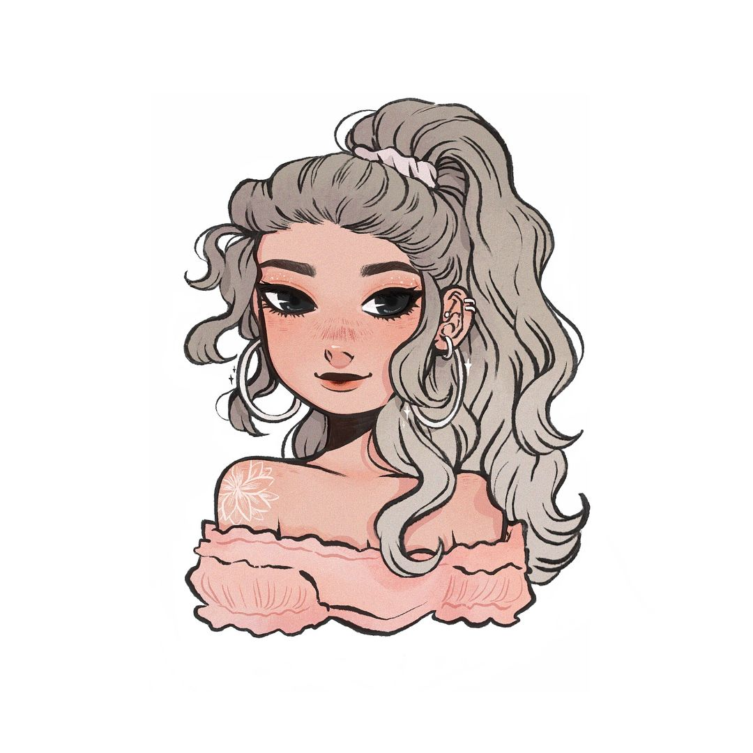 I Had To Draw Itslopez Gorgeous Soft Girl For The