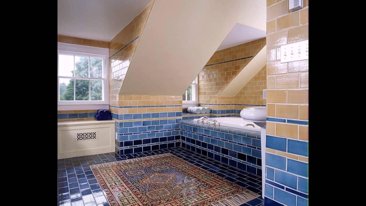 Badezimmer Blau Gelb Badezimmer Kreativ Gestalten Pinterest World