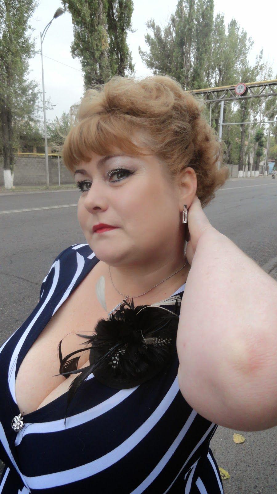 Busty Russian Woman Bbw