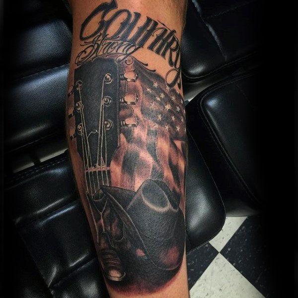 90 Cowboy Tattoos For Men Wild Wild West Designs Cowboy Tattoos Country Boy Tattoos Country Tattoos