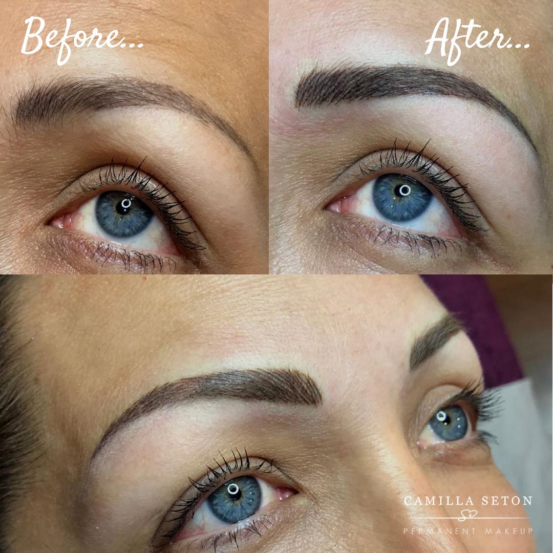 Eyebrow permanent makeup Permanent makeup, Permanent