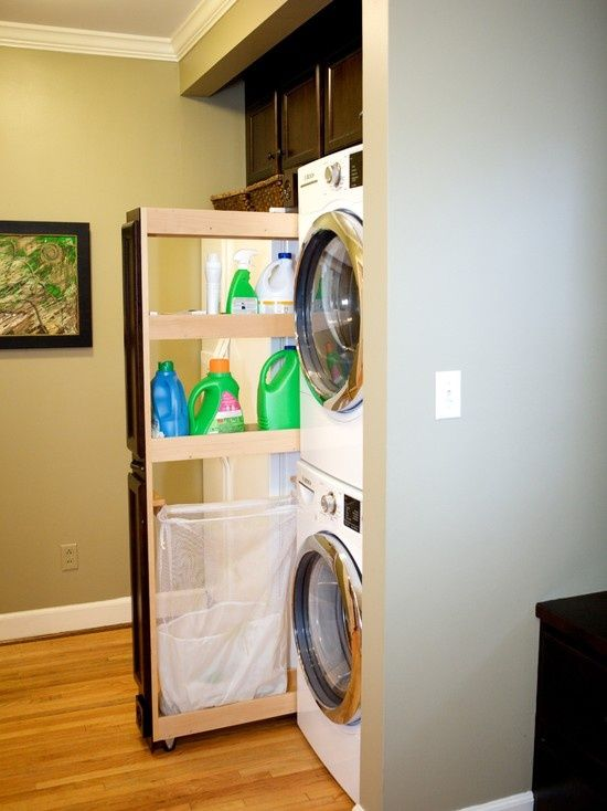 great idea stacking washer dryer in 2018 laundry room room rh pinterest com