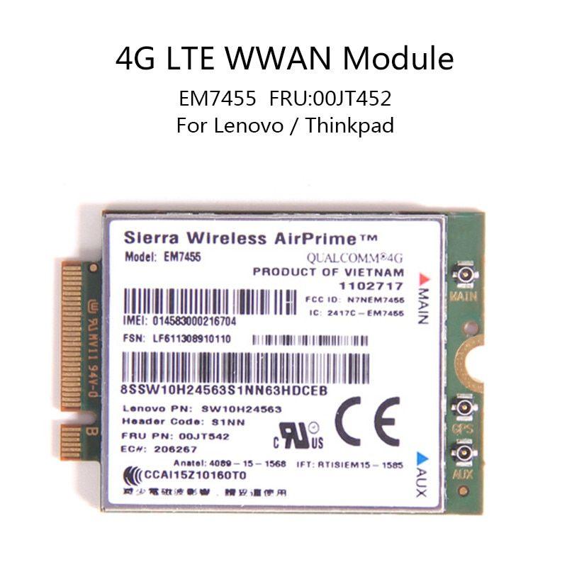 For Lenovo X260 T460 P50 P70 L560 X1 Carbon Sierra Wireless