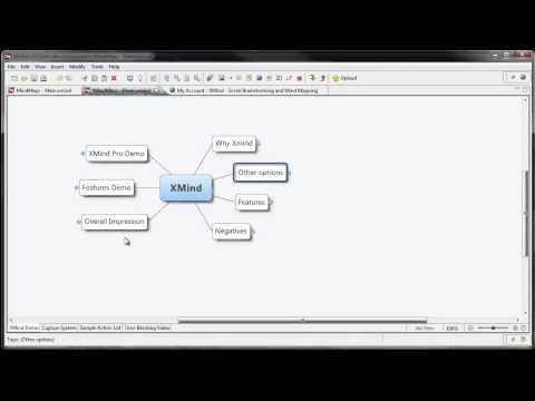 a cool and free mind mapping tool xmind youtube - Free Mind Map Program