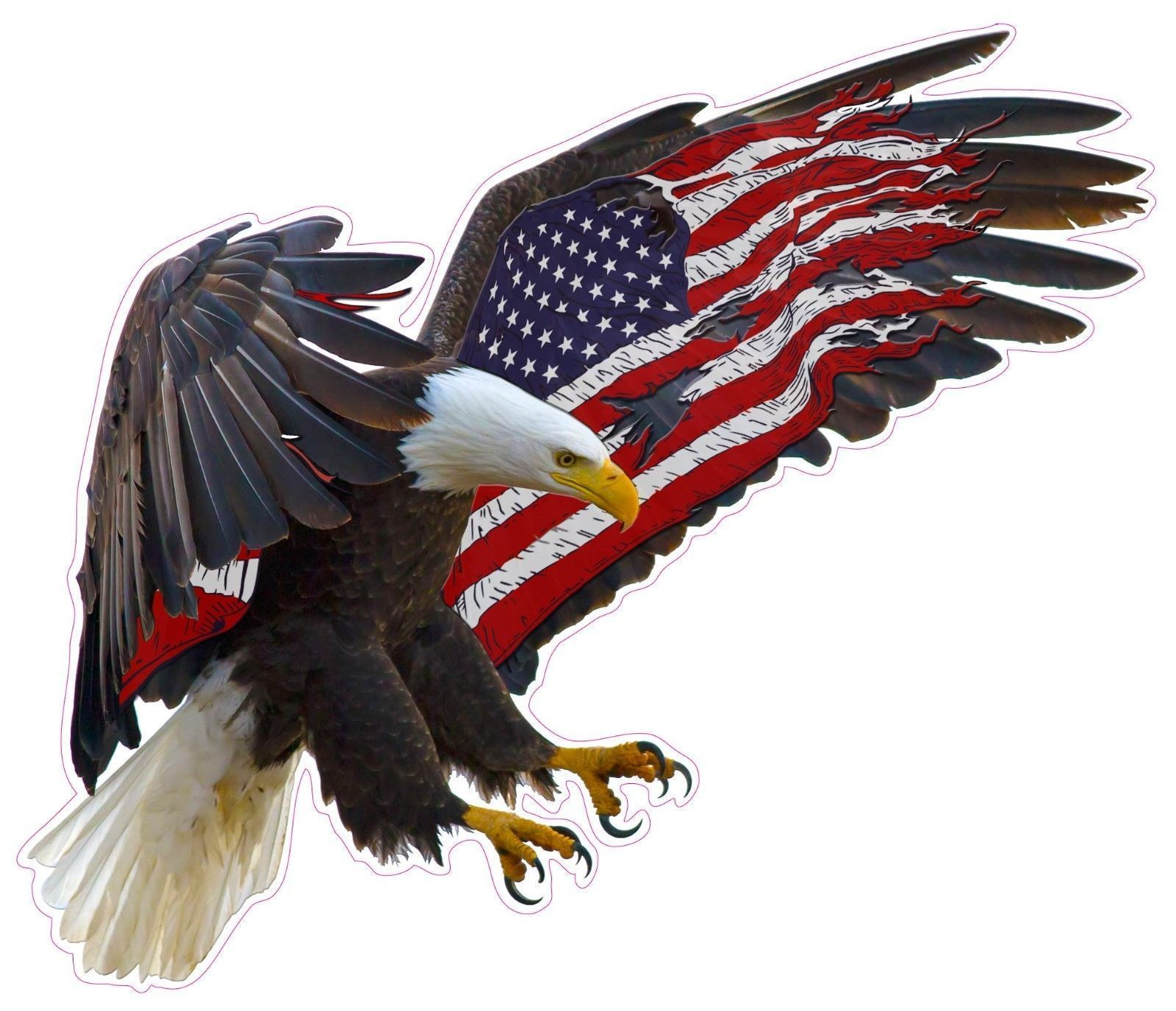 American Eagle Landing XL Sticker | Products | American ...