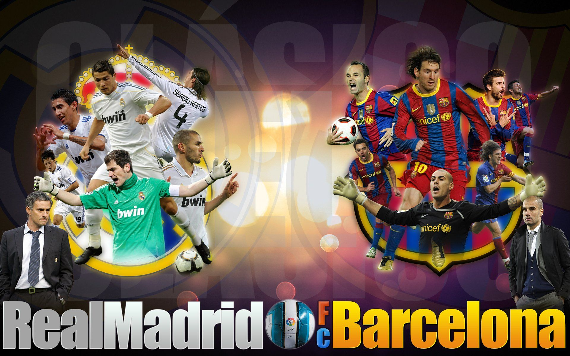 Barcelona Vs Real Madrid Hd Wallpapers Images Pics 1920 1080 Real Madrid Vs Barcelona Wallpapers 37 Wallpape Barcelona Vs Real Madrid Barcelona Real Madrid