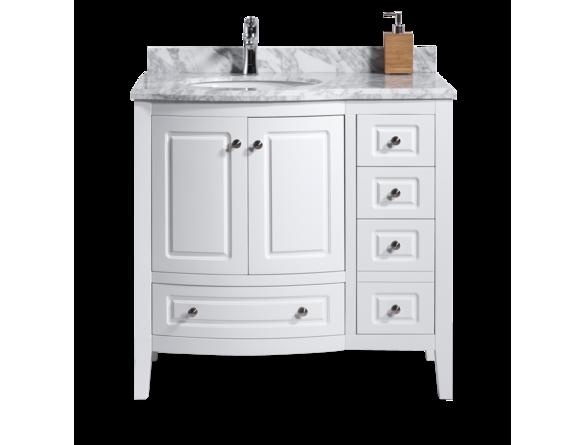 """Ensemble meuble lavabo 36"""" avec dessus de marbre Meubles lavabos"""