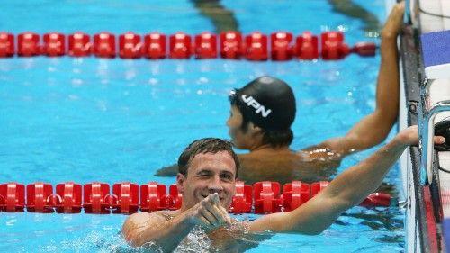 Ryan Lochte Won Swimming HD Wallpaper