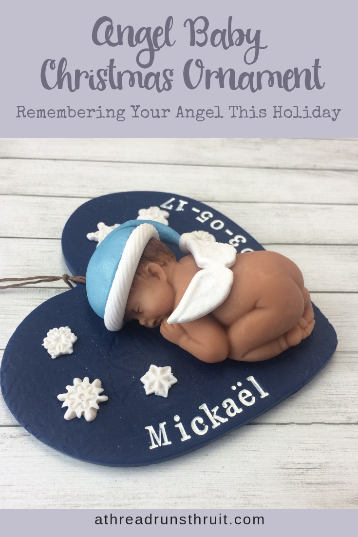 Each Angel Baby Memorial Ornament Is Hand Crafted With Loving Care To Be A Special Reminder Of Your Angel Baby Memorial Baby Christmas Ornaments Baby Memories