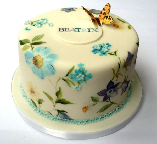 This was done for a christening, but it can obviously be done as a wedding cake.