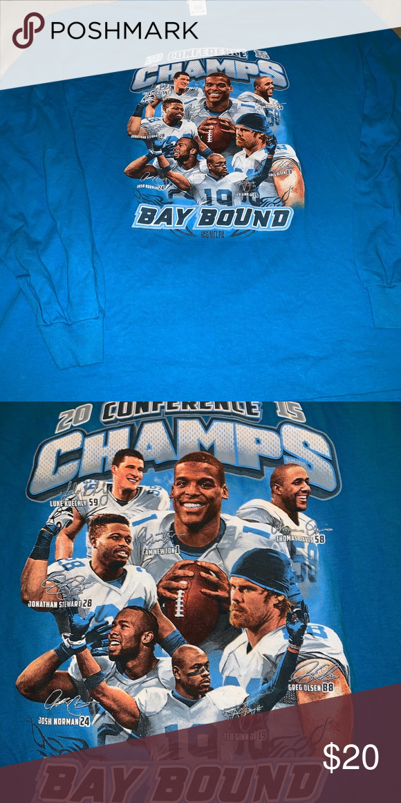 panthers conference champs shirt