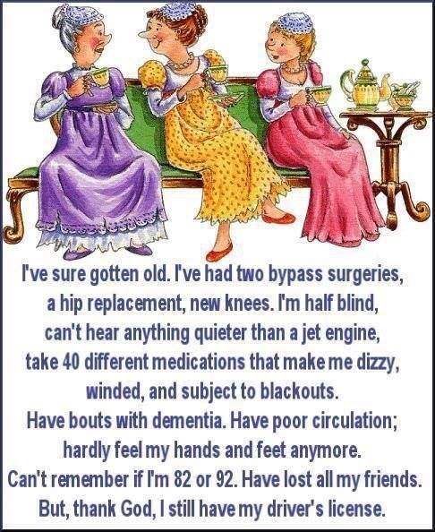 Pin By Auntie Mae S Sweet Treats We On Make Me Laugh Cute Quotes Old Age Humor Senior Humor