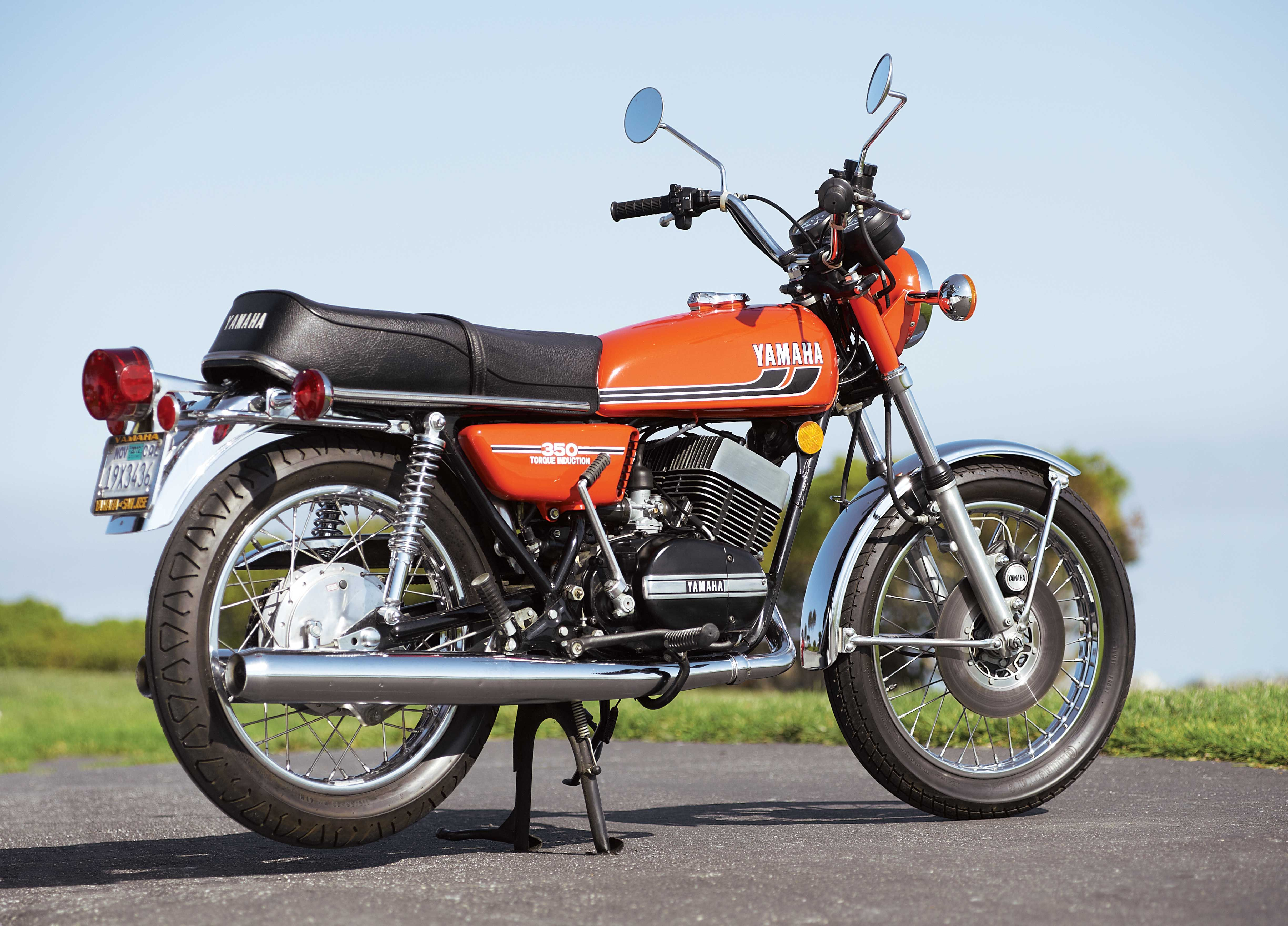 1975 yamaha rd350 best bang for the buck classic for Yamaha 350cc motorcycles