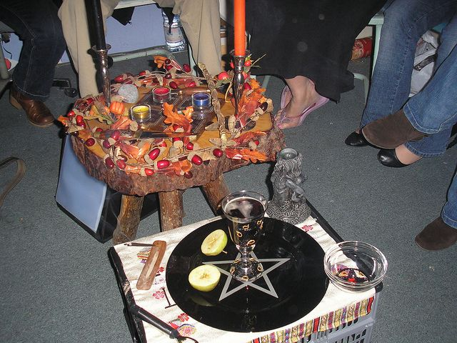 Samhain Altar, Beautiful