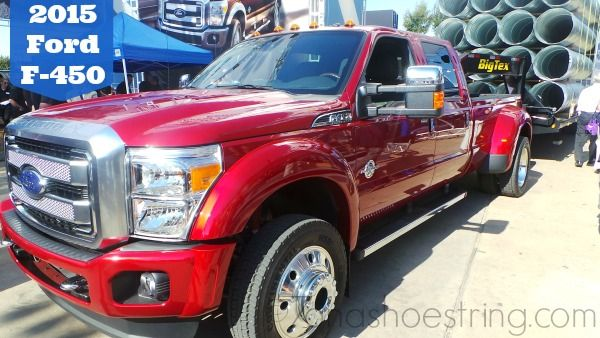2015 Ford F-450...oh this makes my heart beat faster!
