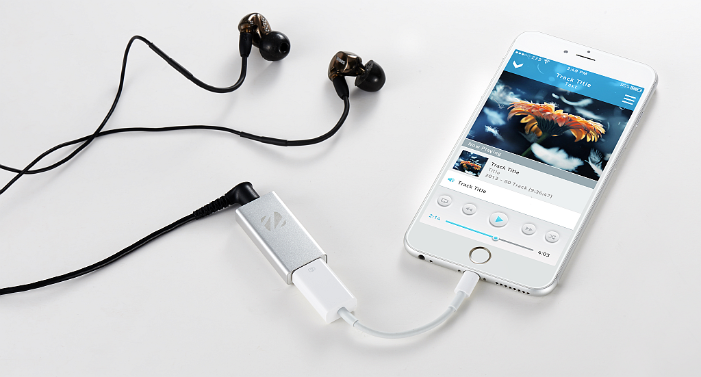 Zuperdac Silver With Iphone Connect With An Apple Usb Camera Adapter Hifi Hifi Music System Usb