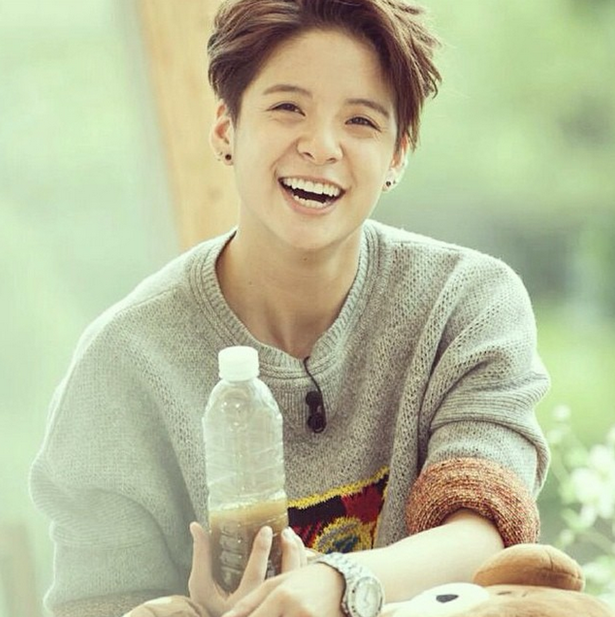Image result for amber fx smile